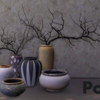 Recolors of Binh Bowl, Short Vase and Vase with Branches