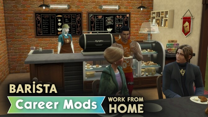 Barista Career Mods by rubi at Mod The Sims image 7115 670x377 Sims 4 Updates