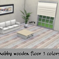 Shabby wooden floor by so87g