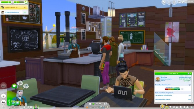 Barista Career Mods by rubi at Mod The Sims image 7213 670x377 Sims 4 Updates
