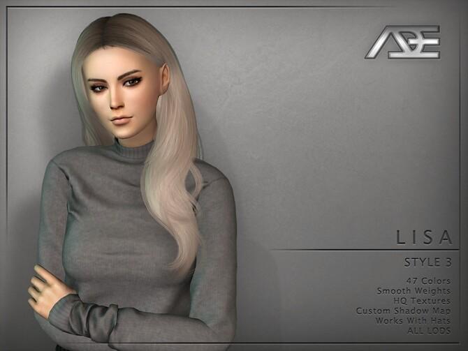 Ade Lisa Style 3 Hair by Ade Darma at TSR image 7214 670x503 Sims 4 Updates