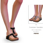 Summer Sandals by DarkNighTt