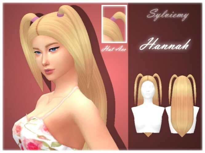 Hannah Hairstyle Set by Sylviemy