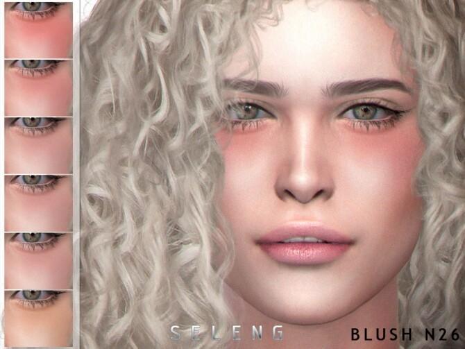 Sims 4 Blush N26 by Seleng at TSR