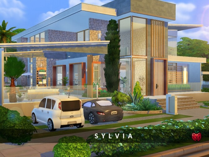 Sylvia family home by melapples at TSR image 733 670x503 Sims 4 Updates