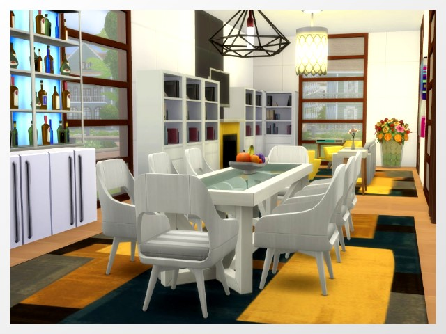 Sims 4 Old Town Road Home by Oldbox at All 4 Sims