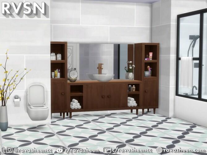 Sims 4 Bidet As It May Bathroom Set by RAVASHEEN at TSR