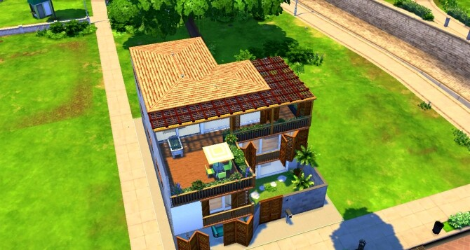 Sims 4 Trung Villa by valbreizh at Mod The Sims