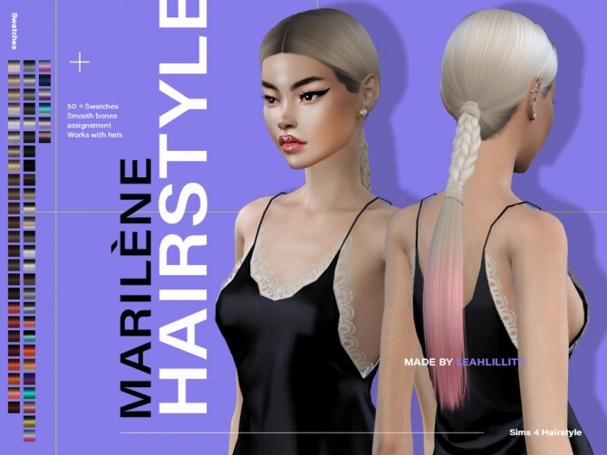 Marilene Hairstyle by Leah Lillith at TSR image 7520 670x503 Sims 4 Updates