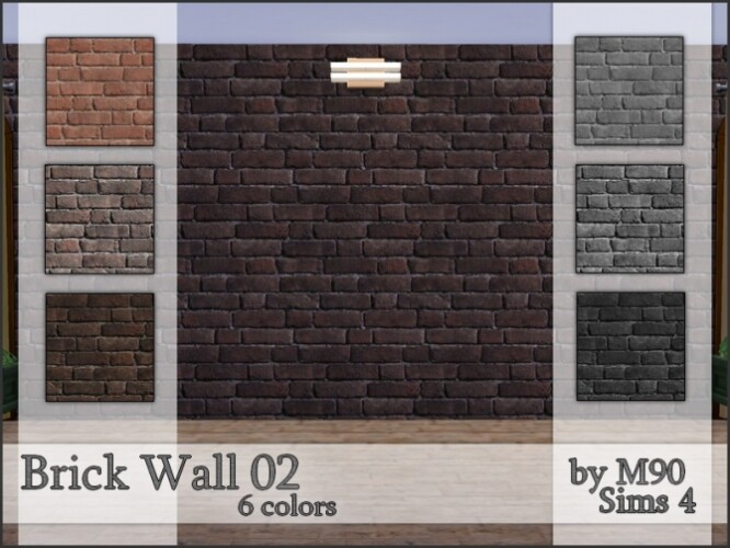 M90 Brick Wall 02 by Mircia90
