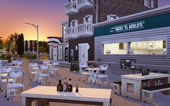 El Axolotl Taco restaurant at Lutessa image 756 670x419 Sims 4 Updates