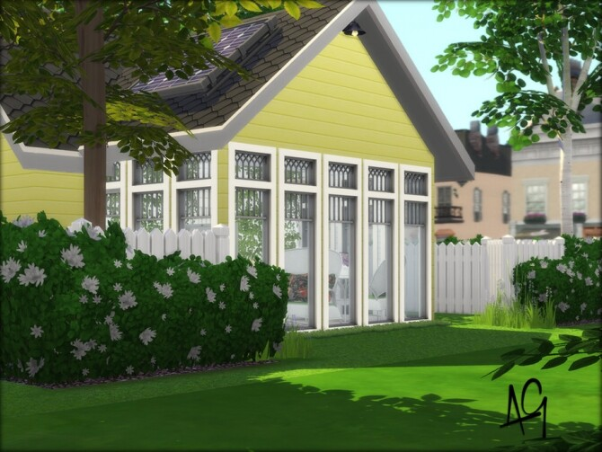 Sims 4 La Petite Living by ALGbuilds at TSR