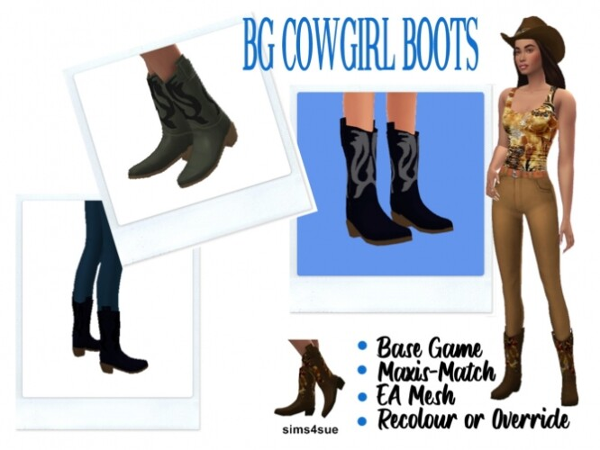 BG COWGIRL BOOTS