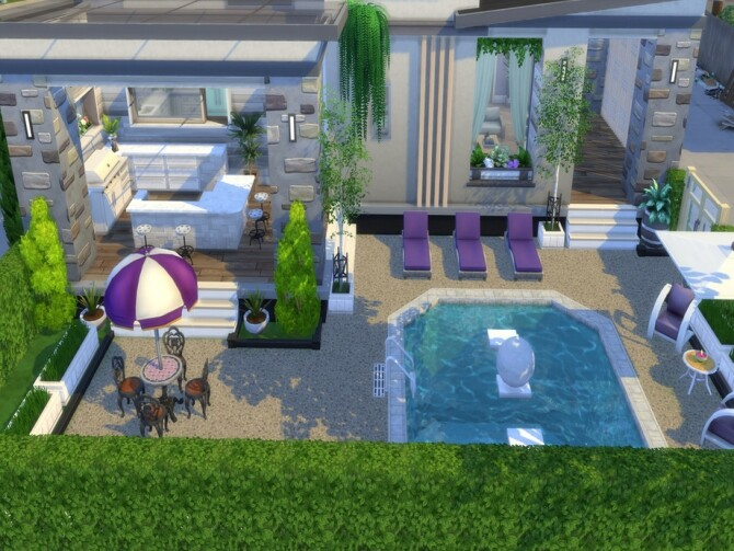 Sims 4 Felicity Court Home by LJaneP6 at TSR