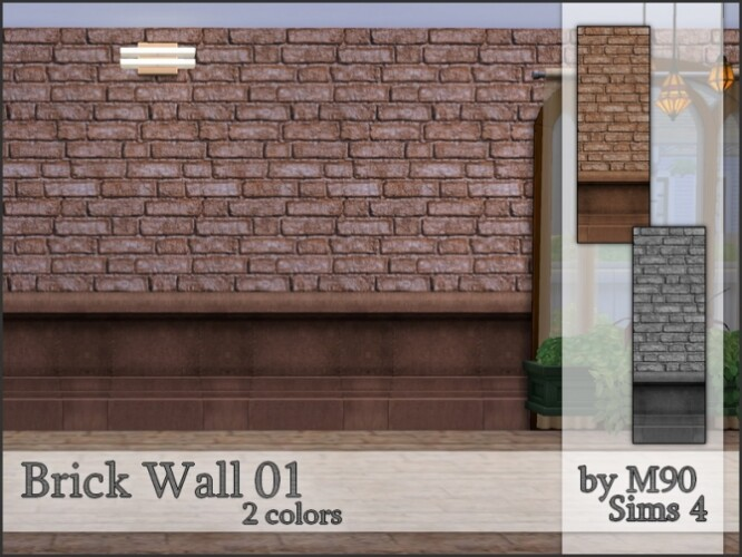 M90 Brick Wall 01 by Mircia90