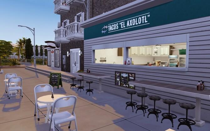 El Axolotl Taco restaurant at Lutessa image 776 670x419 Sims 4 Updates