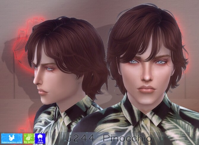 J244 Pinocchio hair (P) at Newsea Sims 4 image 7820 670x491 Sims 4 Updates