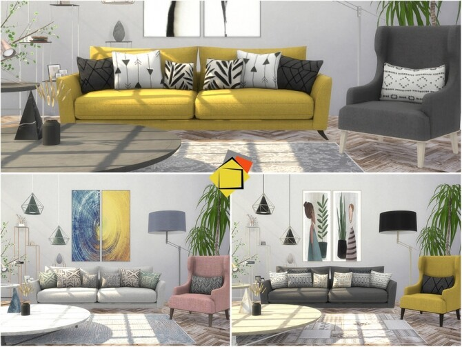 Troia Living Room by Onyxium at TSR image 7821 670x503 Sims 4 Updates