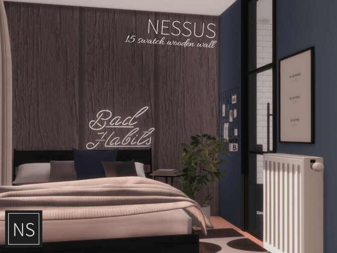 Nessus Wooden Walls by Networksims at TSR image 783 670x503 Sims 4 Updates