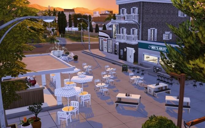 El Axolotl Taco restaurant at Lutessa image 786 670x419 Sims 4 Updates