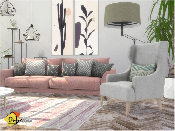 Troia Living Room by Onyxium at TSR image 7920 670x503 Sims 4 Updates