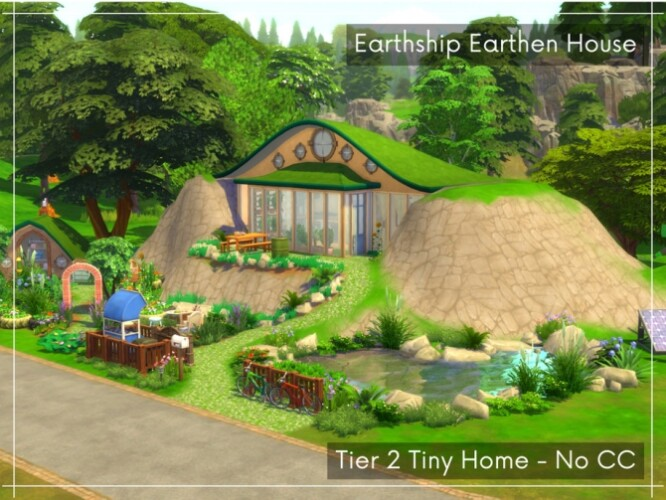 Earthship Tier 2 Tiny House