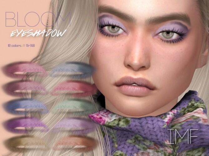 Sims 4 IMF Bloom Eyeshadow N.148 by IzzieMcFire at TSR