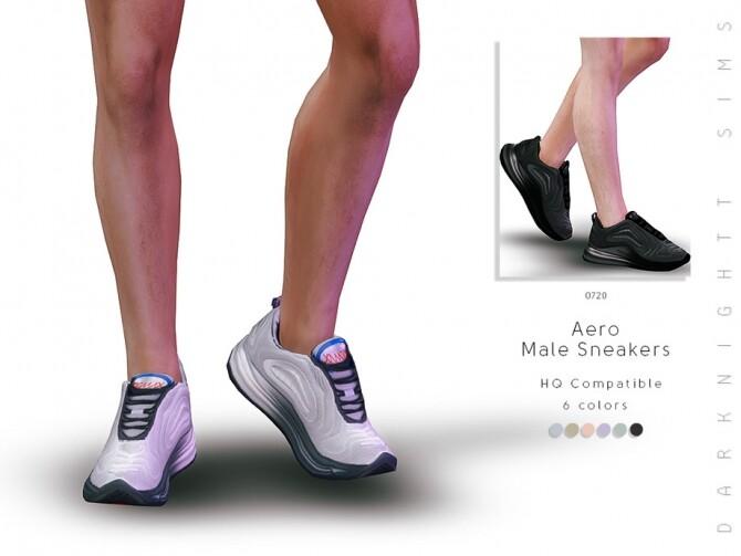 Sims 4 Aero Male Sneakers by DarkNighTt at TSR