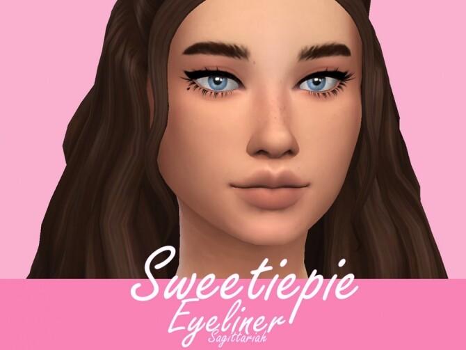 Sweetiepie Eyeliner by Sagittariah at TSR image 803 670x503 Sims 4 Updates