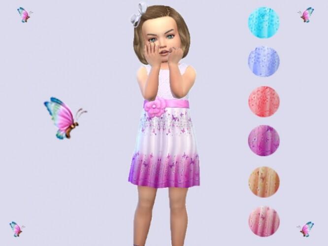 Toddler flower dress by Neladies