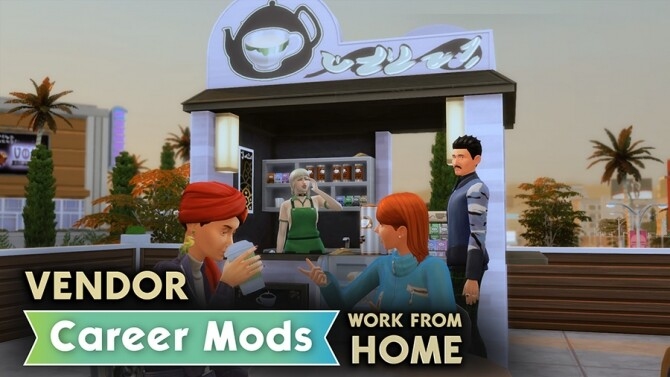 Sims 4 Vendor Career Mod by rubi at Mod The Sims