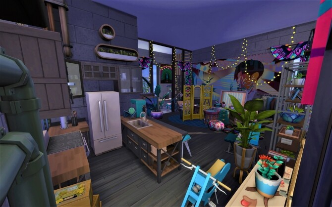 Sims 4 910 Medina Studios by spaceytheace at Mod The Sims