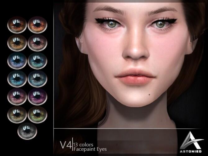 Sims 4 Eyes V4 by Astonied at TSR