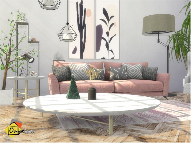Troia Living Room by Onyxium at TSR image 8125 670x503 Sims 4 Updates