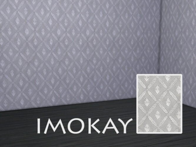 Shiny geometric wallpaper by imOKAY