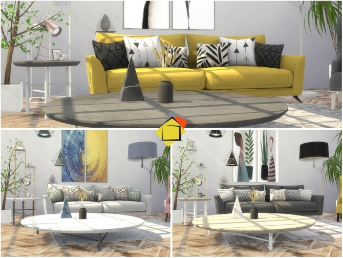 Troia Living Room by Onyxium at TSR image 8222 670x503 Sims 4 Updates