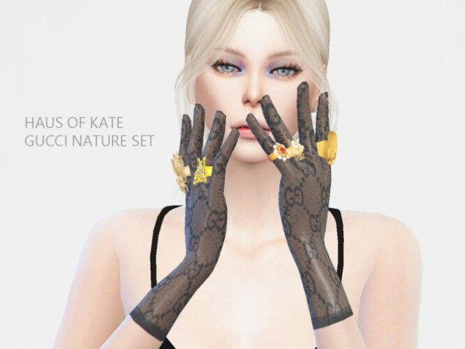 Flower Ring from Nature Set by Haus of Kate