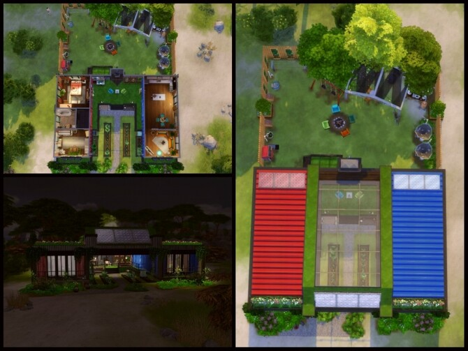 Sims 4 Greely home by sparky at TSR