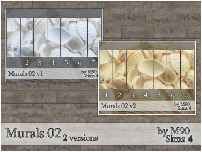 Sims 4 M90 Murals 02 by Mircia90 at TSR