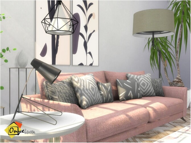 Troia Living Room by Onyxium at TSR image 8320 670x503 Sims 4 Updates