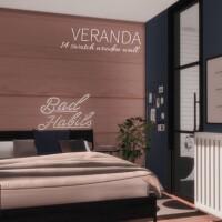Veranda Wooden Walls by networksims