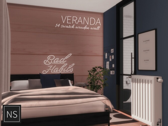 Veranda Wooden Walls by networksims at TSR image 833 670x503 Sims 4 Updates