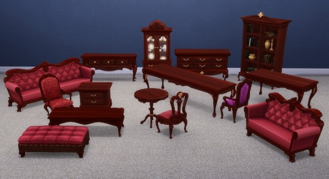 Princess Cordelia Raised Wood Set by xordevoreaux at Mod The Sims image 839 670x365 Sims 4 Updates