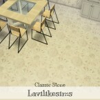 Classic Stone house by lavilikesims