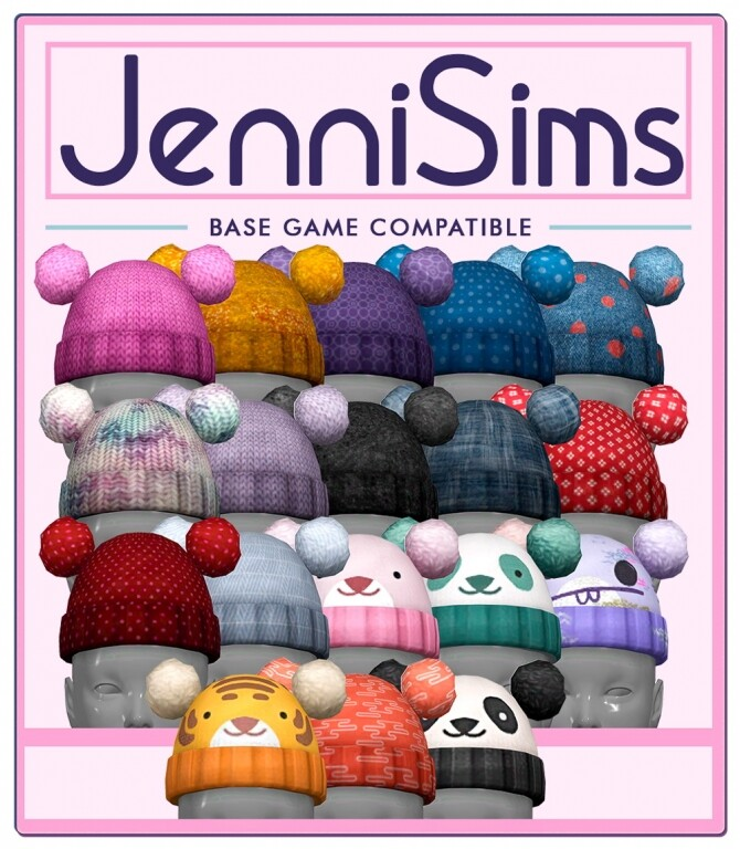 Sims 4 Hat BGC at Jenni Sims