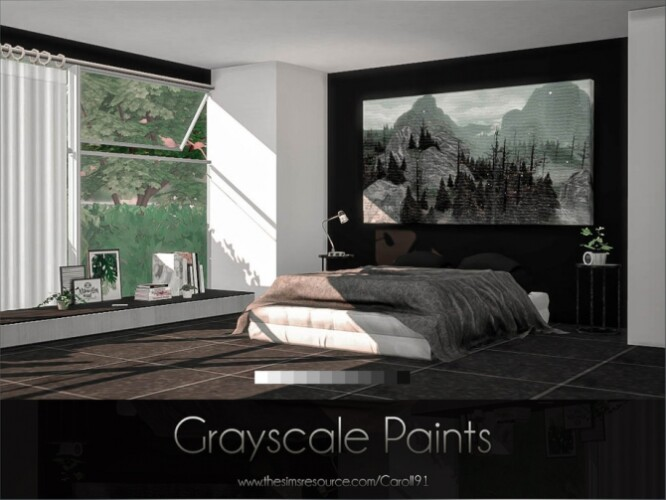 Grayscale Paints by Caroll91
