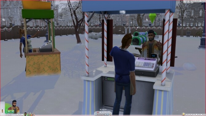 Functionable Sims 3 Winter and Autumn Stands Conversion by AlexCroft
