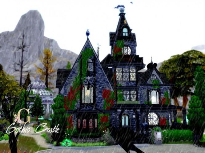 Gothic Castle by GenkaiHaretsu