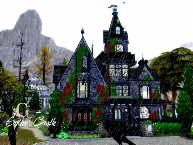 Gothic Castle by GenkaiHaretsu at TSR image 8611 670x503 Sims 4 Updates