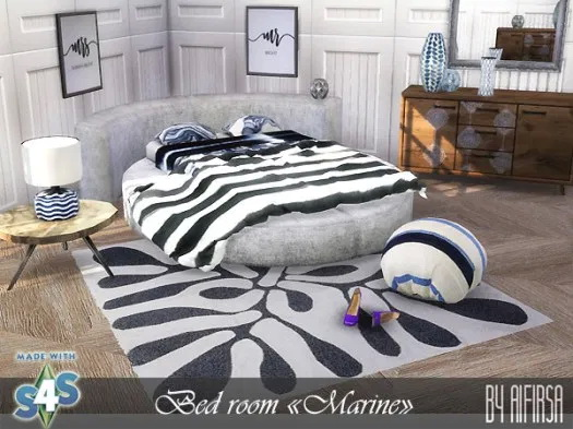 Marine bedroom